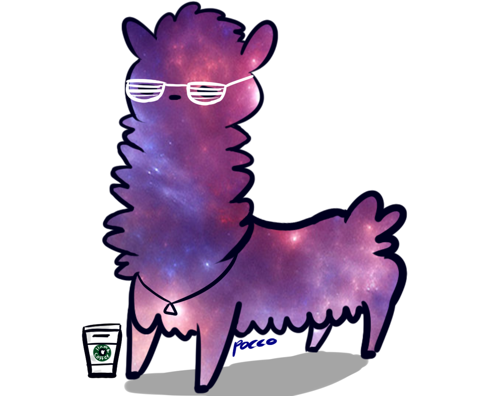 Hipster Llama By Fanpocolyptic