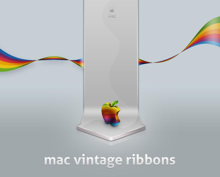 mac vintage ribbons by LeMex