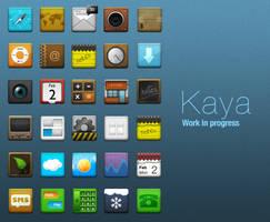 Kaya work in progress by LeMex
