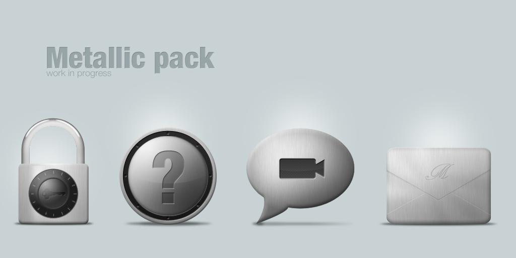 metallic pack in progress by LeMex