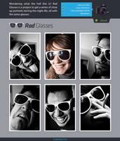 Rad Glasses Website Live by LeMex