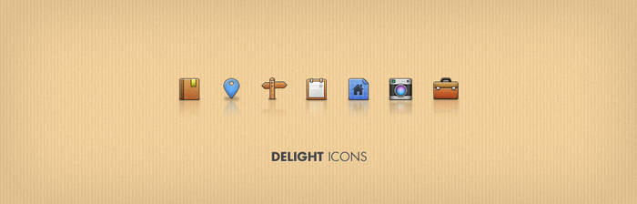 delight psd icons