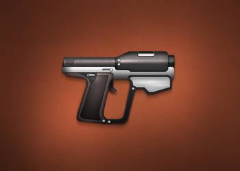 pistol by LeMex