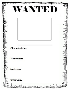 Wanted Poster Template By Cjrules10576 On Deviantart