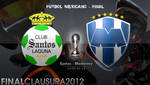 Final Clausura 2012: Santos vs. Moterrey