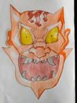 Sketchbook Page 1: oni by AmbrosiaDelish