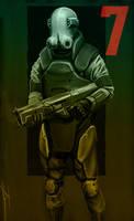 RTB combine soldier concept art by FreemanBG24