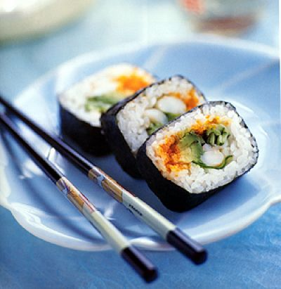 sushi roll by sushi-counter