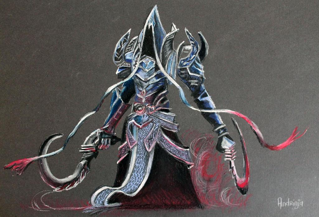 reaper of souls drawing