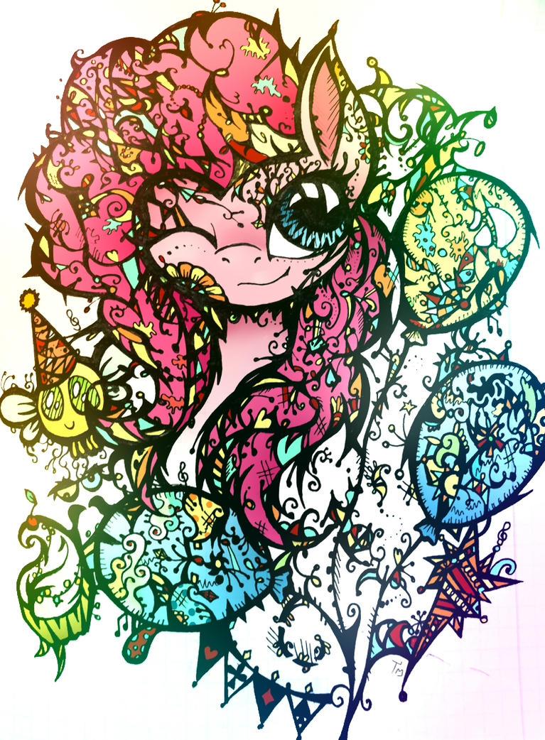 Laughter. Pinkie Pie time. by TwistedMindBrony