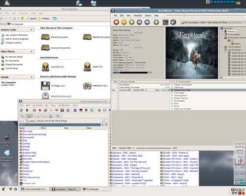 My Buuf desktop