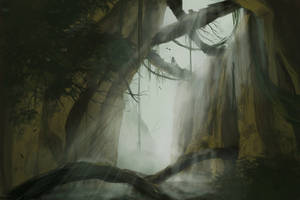 Jungle Landscape by noahdopslaff