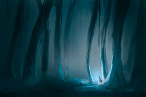 Mystical forest by noahdopslaff