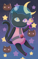 Cookie Cat Poster by MissFynd
