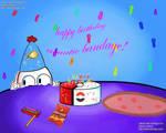 Happy Birthday, Aquatic Bandage!