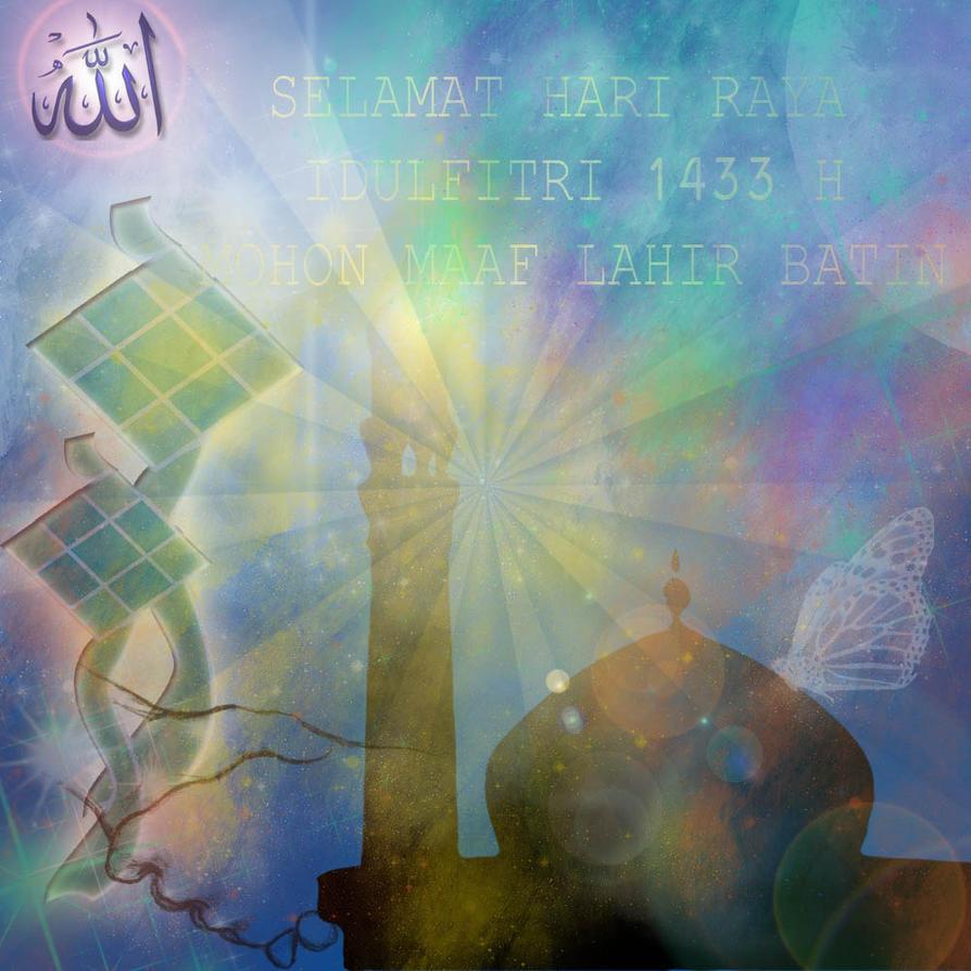 Selamat Hari Raya Idul Fitri 1433 H By Faathir95 On DeviantArt