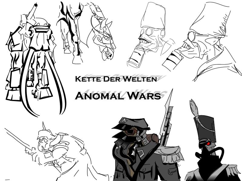 Anomal Wars (title) by Sermann