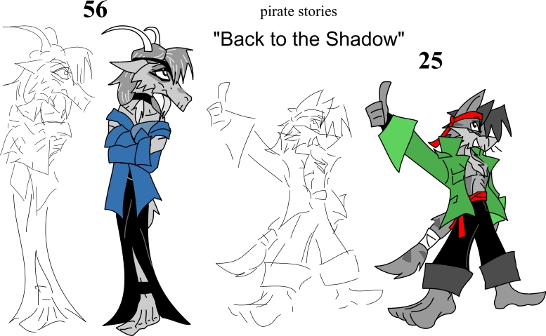 Back to the Shadow - 56 and 25 by Sermann