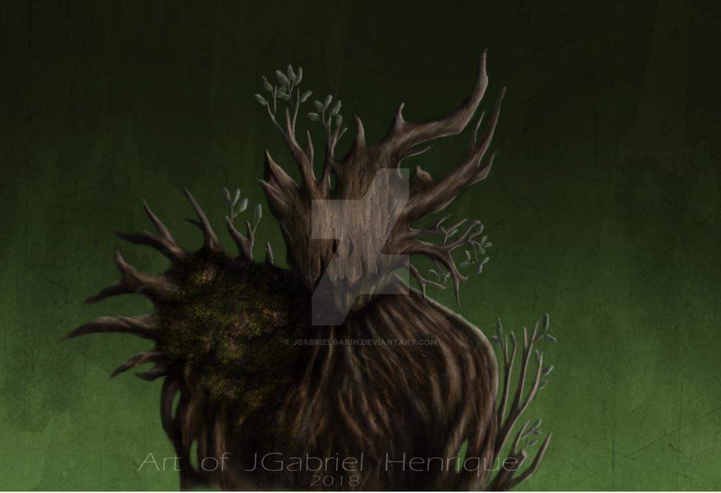 Wooden Troll by jgabrielgarin