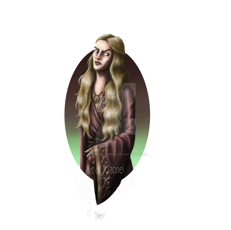 Cersei FanArt by jgabrielgarin