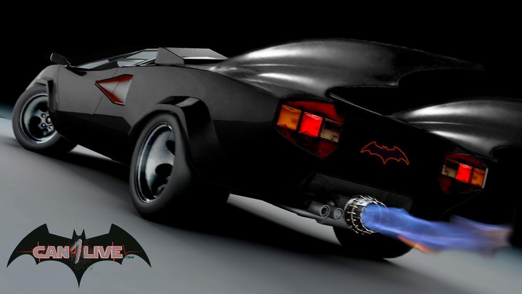 Batman Lamborghini Countach Custom By Can1live On Deviantart