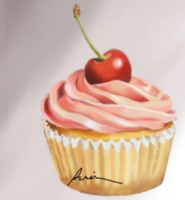 Drawing a cupcake in colored pencil Drawing Drawings Pencil