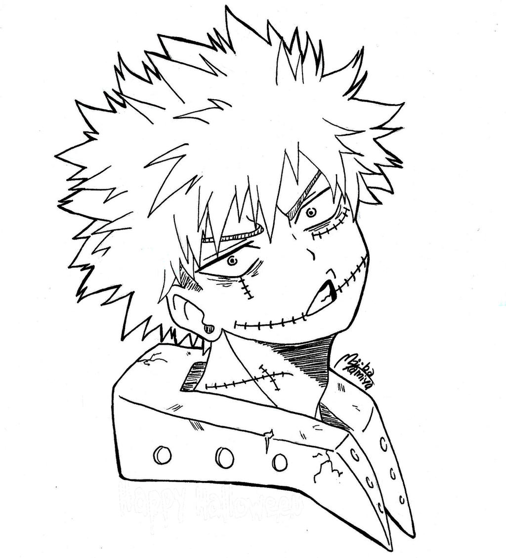 Bakugo Pages Coloring Pages