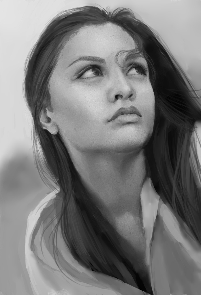 Ann`s portrait by JayCount