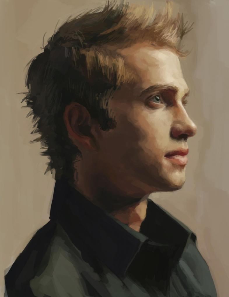 Hayden`s portrait by JayCount