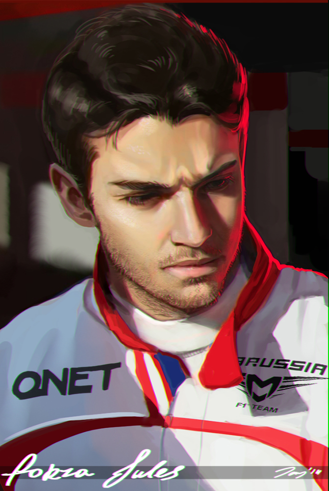 Jules Bianchi by JayCount