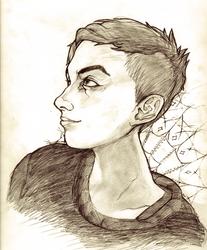 Portrait of my dearest friend CJ