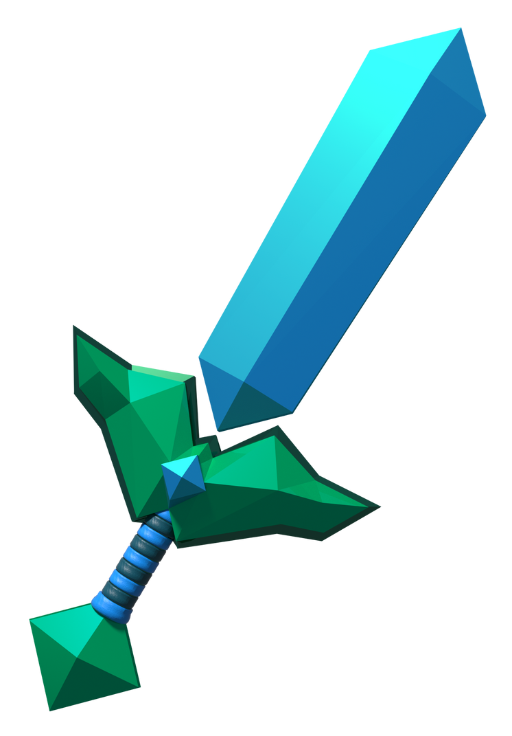 Diamond Sword Imagined by LanceBeryl on DeviantArt