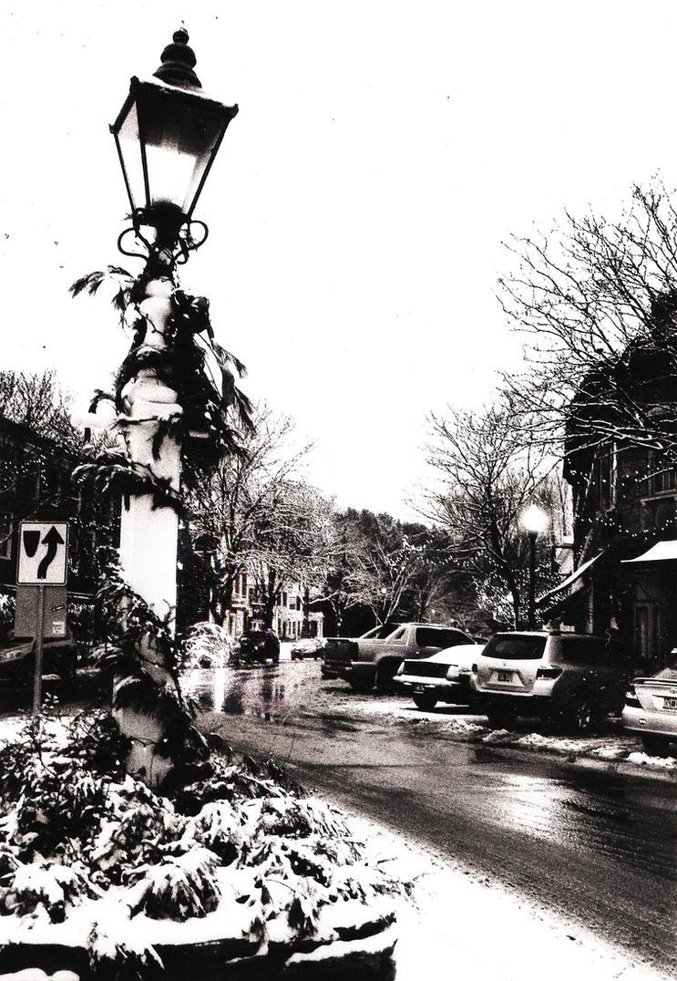 35mm Street Lamp In Woodstock by Derpy-Mermaid