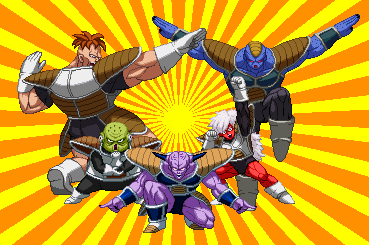 Ginyu Force Z2 by NicotineFist1805