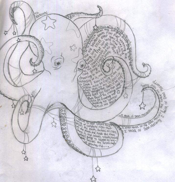 Octopus Tattoo Sketch Octopus Tattoo Sketch by