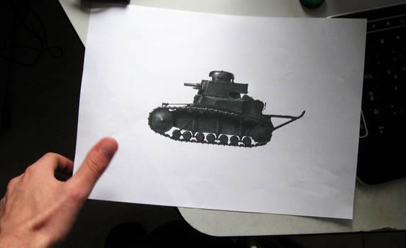 T-18/MS-1 Test print