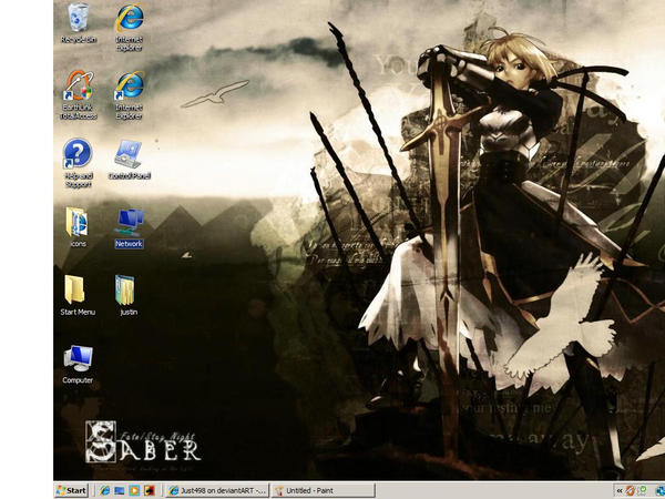 desktop screen shot by Just498
