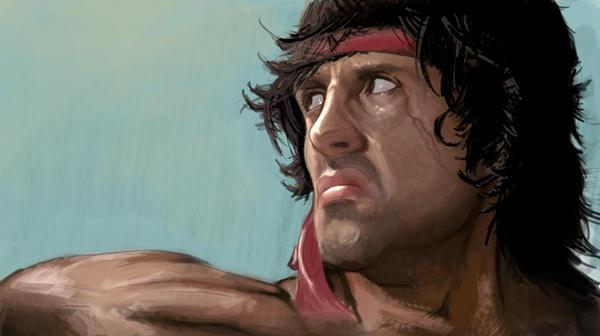 Rambo by noQuarterstudios