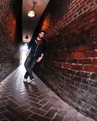 Back Alley Wanderer by Oni-mt