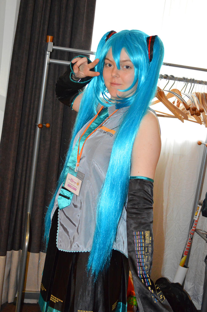 Cloakroom Miku by memersonphotographic