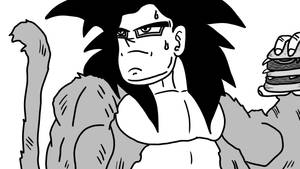 Super Saiyan 4 Goku VS Ultra Instinct Goku (2)