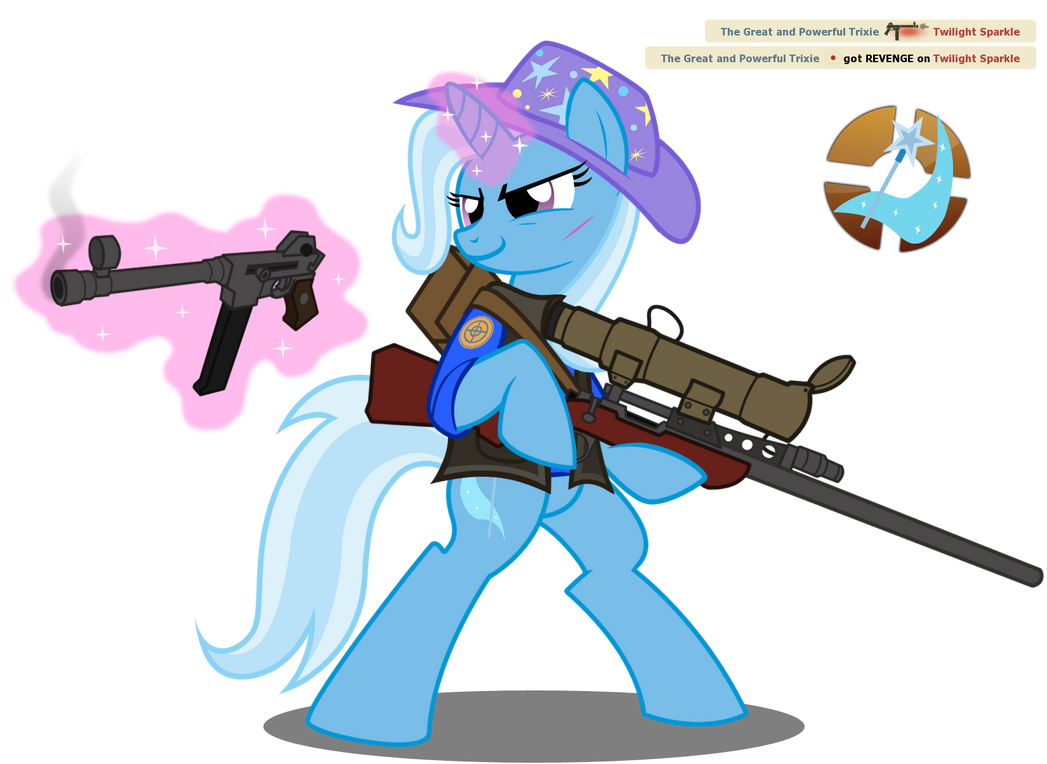 BLU Sniper - Trixie by NikkiKitty44