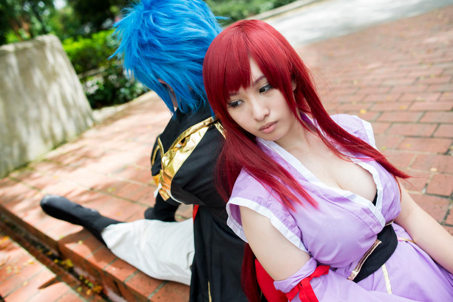 Fairy Tail - Jellal X Erza by infiniterui on DeviantArt