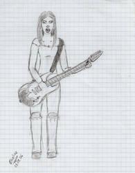 Guitariste by EmyFolie