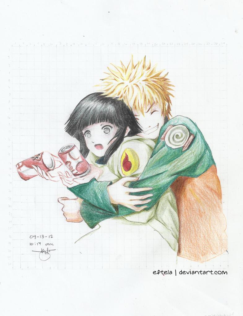 Naruto X Hinata by eftela