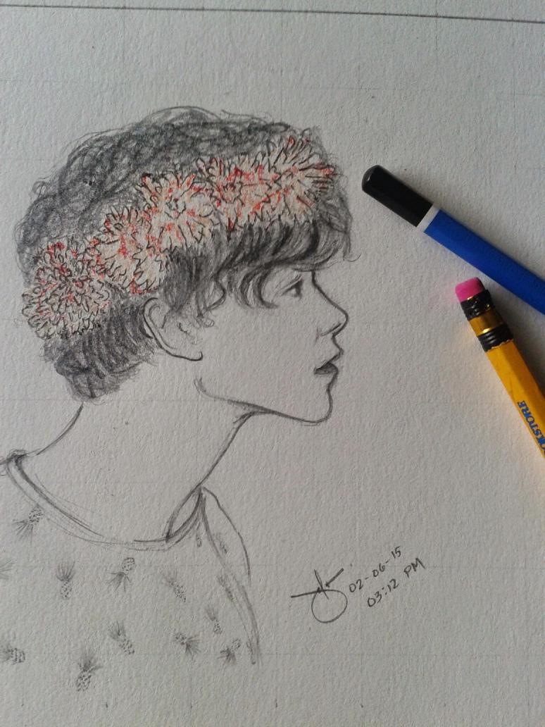ashton irwin rough sketch by eftela