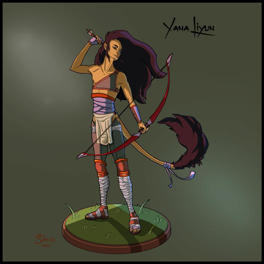 Yana Liyun by dark-brain
