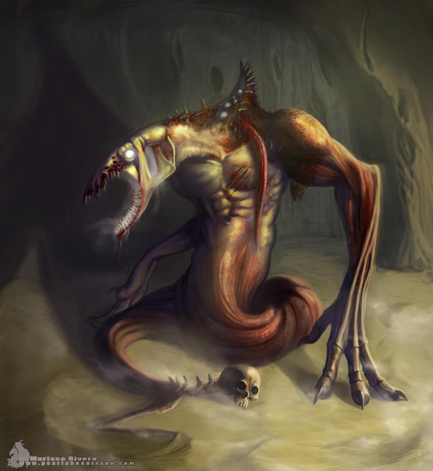Foul creature by PearlPhoenix