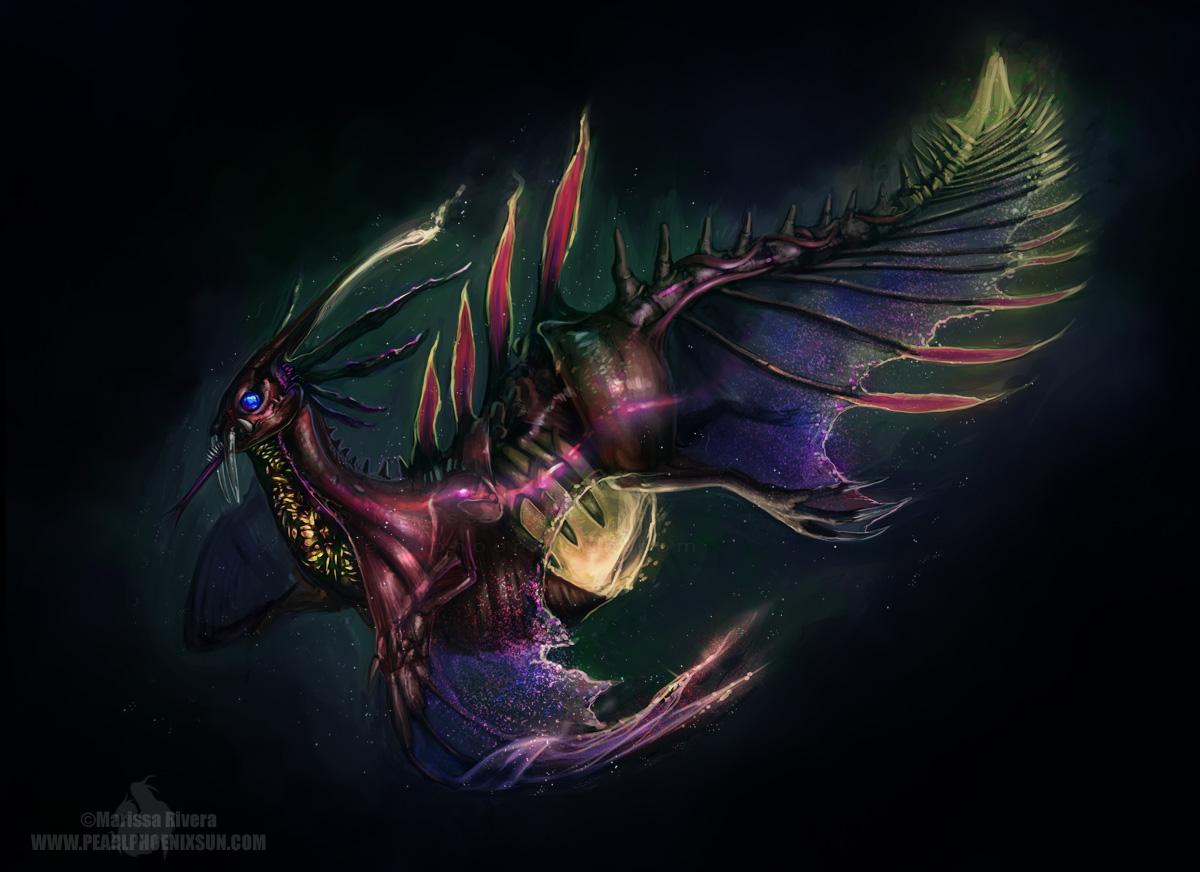 Deep Sea Phoenix by PearlPhoenix