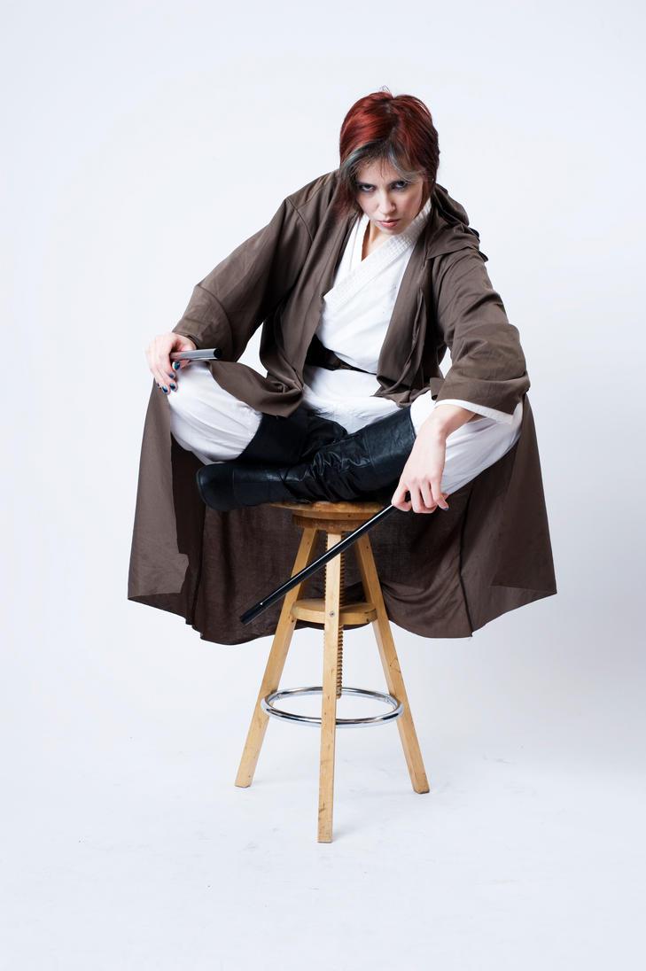 Jedi Pose 1a by jagged-eye